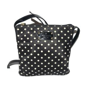 Kate Spade Women's Black Tess Polka Dot Crossbody